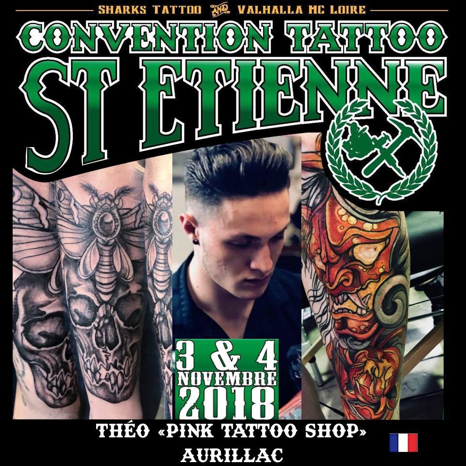 Théo - Pink Tattoo Shop